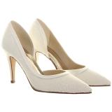 John Lewis Rainbow Club Esme Lace Bridal Shoe