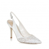 Debenhams J By Jasper Conran Designer Embroidered Wedding Shoes