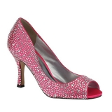 Debenhams Pink By Paradox London Satin Celebrate Pink Wedding Shoes