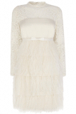 Coast Cherish Feather Wedding Dress