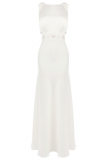 Coast Tobey Crepe Maxi Wedding Dress