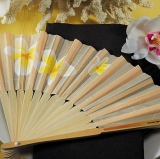 Yellow Tropical Fan