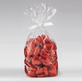 Red Foil Wrapped Chocolate Hearts