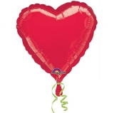 Heart Shaped Foil Balloon