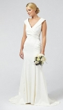 Debenhams - Debut Samantha Satin Bridal Dress