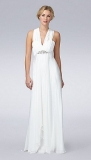 Debenhams - Debut Ivory embellished Grecian wedding dress