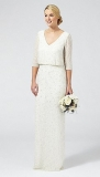 Debenhams - Ben De Lisi Occasion Ivory 'Margerite' embellished wedding dress