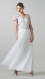 Debenhams - Phase Eight Evangeline Tulle Embellished Wedding Dress