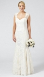 Debenhams - Ben De Lisi Occasion Ivory 'Lorelei' wedding dress