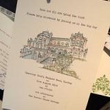 Personalised Wedding Venue Invitations