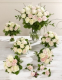 Marks and Spencer - Pink and White Wedding Luxury Rose Collection