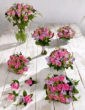 Marks and Spencer - Pink and Lilac Wedding Rose and Freesia Collection