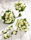 Marks and Spencer - White Rose and Freesia Wedding Collection