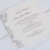 Not On The High Street .com - 'Vintage Lace' Wedding Invitation