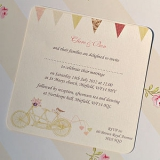 Not On The High Street .com - 'Made For Two' Wedding Invitation Cards