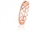 Clogau Gold - Heart Affinity Stacking Ring