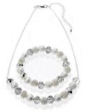 Marks and Spencer - Silver Plated Snail Necklace & Bracelet Set