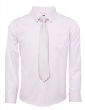 Marks and Spencer - Self Striped Shirt & Tie Set