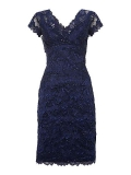 House of Fraser - Shubette Lace Tiered Beaded Dress