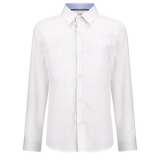 John Lewis - John Lewis Heirloom Plain Textured Shirt