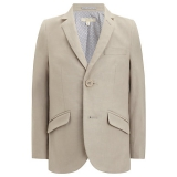 John Lewis - John Lewis Heirloom Boys Linen Blend Blazer