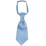 John Lewis - John Lewis Boy Single Cravat, Blue