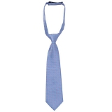 John Lewis - John Lewis Boy Geo Slip-On Tie, Blue/Pink