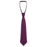 John Lewis - John Lewis Boy Slip-On Tie, Purple