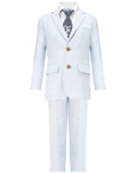 Monsoon - Buddie Light Blue Suit Set