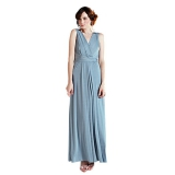 John Lewis - Bridesmaid Samantha Full Length Dress, Duck Egg