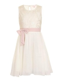 House of Fraser - Little Misdress Girl's Bow Waist Dress