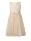 House of Fraser - Little Misdress Girl`S Tulle Bow Dress