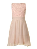 House of Fraser - Little Misdress Girl`S Diamond Bodice Dress