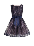 House of Fraser - Little Misdress Girl`S Lace Dress