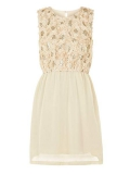 House of Fraser - Yumi Girls Girl's Floral Sequin Embellished Dress