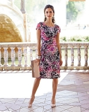 Marisota - Marisota Together Print Dress