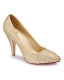 SIMPLY BE - SIMPLY BE JEWELLED COURT SHOES D FIT