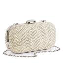 Simply Be - SIMPLY BE RAFFIA CLUTCH BAG