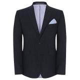 John Lewis - John Lewis Italian Fleck Linen Wedding Blazer, Indigo