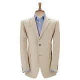 John Lewis - John Lewis Classic Linen Wedding Suit Jacket, Stone