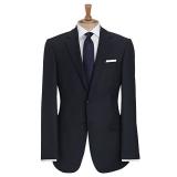 John Lewis - John Lewis Regular Fit Sharkskin Wedding Suit Jacket, Navy