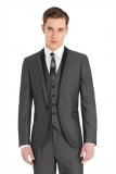 Moss Bros - Moss Bros - Ventuno 21 Slim Fit Grey Dinner Wedding Suit