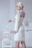 Etsy - Etsy - Fitted Style Short Wedding Dress, M38 by ApilatCreativeAtelie