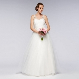Debenhams - Debut Ivory vintage tulle wedding dress
