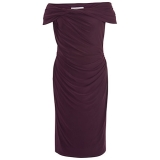 John Lewis - John Lewis Chesca Twist Knot Jersey Dress