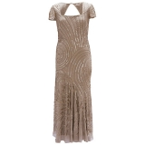 John Lewis - John Lewis Chesca Swirl Beaded Dress