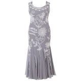 John Lewis - John Lewis Chesca Embroidered Dress