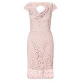 John Lewis - John Lewis Adrianna Papell Illusion Lace Dress