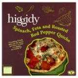 Ocado - Ocado Higgidy Spinach, Feta & Red Pepper Quiche
