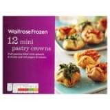 Ocado - Ocado Frozen 12 Mini Pastry Crowns Waitrose